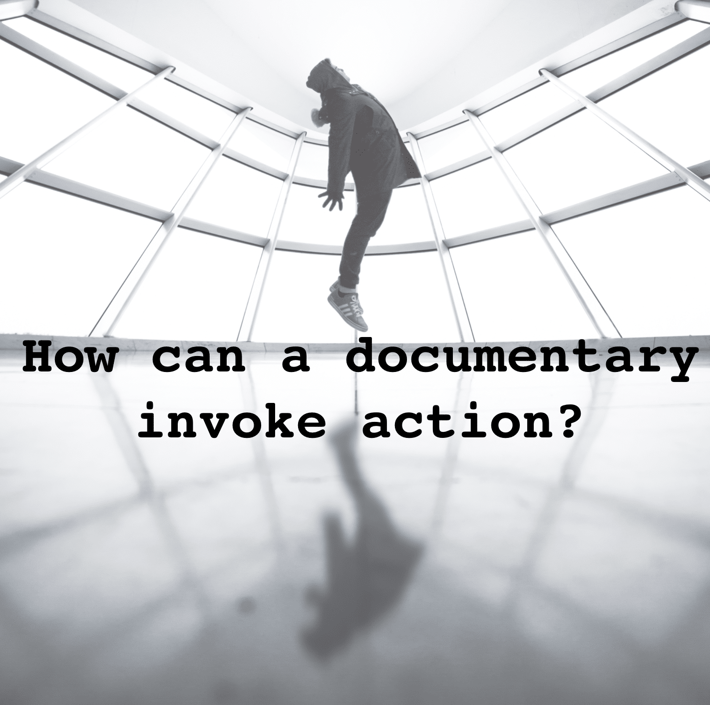 HOW DO YOU THINK a documentary can invoke action?